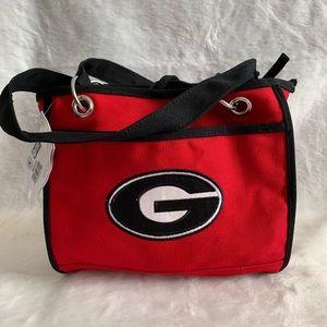 University of Georgia UGA Bulldogs red tote NWT